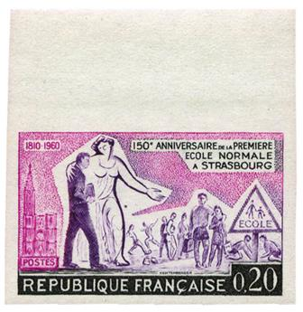 n°1254a** ND - Timbre FRANCE Poste