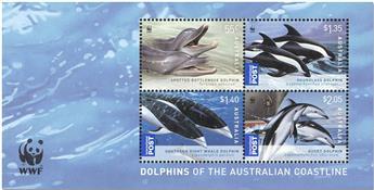 n° 115 - Timbre AUSTRALIE Blocs et feuillets