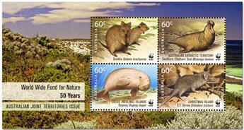 n° 147 - Timbre AUSTRALIE Blocs et feuillets