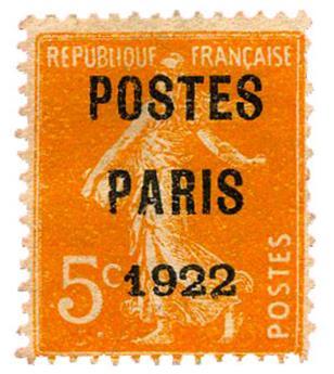 n°30(*) B/TB - Timbre FRANCE Préoblitérés