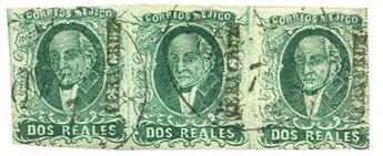 n°3bA obl. - Timbre MEXIQUE  Poste