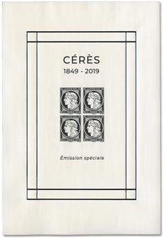 Bloc Feuillet Cérès 1849/2019 - Emission spéciale