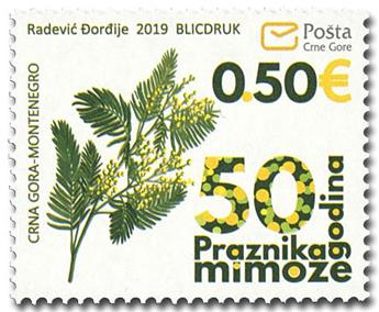 n° 427 - Timbre MONTENEGRO Poste