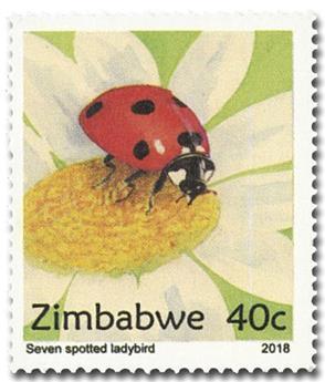 n° 818/821 - Timbre ZIMBABWE Poste