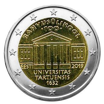 2 EURO COMMEMORATIVE 2019 : ESTONIE (100 ans de l'ouverture de l'Université de Tartu)