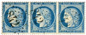 n°60C obl. TB - Timbre FRANCE Poste