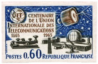 n°1451a** ND - Timbre FRANCE Poste