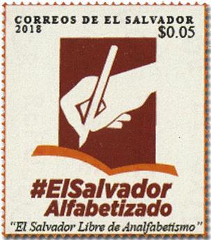 n° 1917 - Timbre SALVADOR Poste