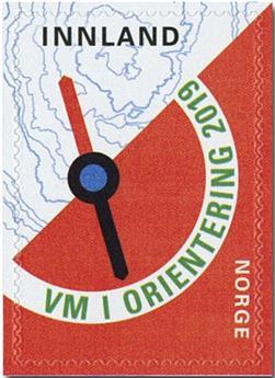 n° 1938 - Timbre NORVEGE Poste