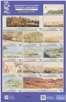 n° 1983/1995 - Timbre COLOMBIE Poste