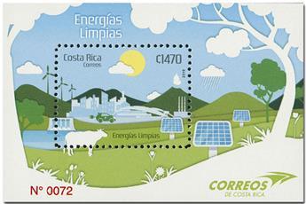 n° 71 - Timbre COSTA RICA Blocs et feuillets