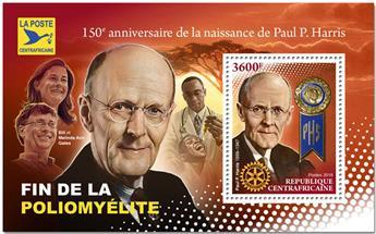 n° 1346 - Timbre CENTRAFRICAINE Blocs et feuillets