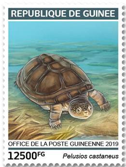 n° 9753/9756 - Timbre GUINÉE Poste