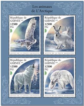 n° 9637/9640 - Timbre GUINÉE Poste