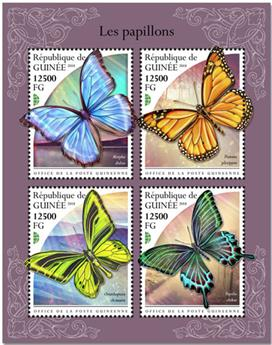 n° 9657/9660 - Timbre GUINÉE Poste
