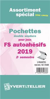 Assortiment de pochettes (double soudure) : 2019-2e sem. (Jeux Autoadhésifs)