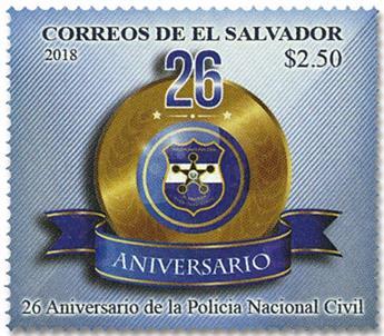 n° 1915 - Timbre SALVADOR Poste
