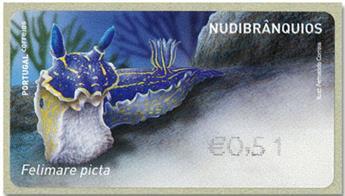 n° 235 - Timbre PORTUGAL Timbres de distributeurs