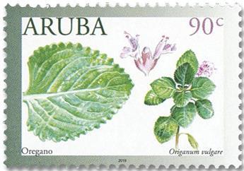 n° 1067/1070 - Timbre ARUBA Poste