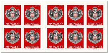 n° 21 - Timbre Monaco Carnets