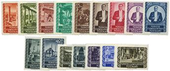 n°1144/1159** - Timbre TURQUIE Poste