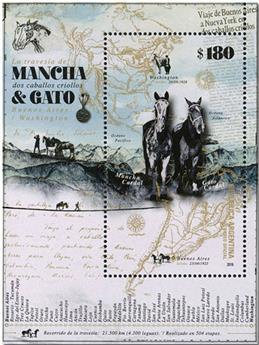 n° 167 - Timbre ARGENTINE Blocs et feuillets