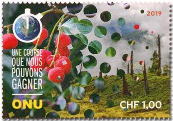 n° 1059/1060 - Timbre ONU GENEVE Poste