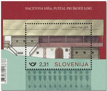 n° 119 - Timbre SLOVENIE Blocs et feuillets
