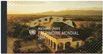 n° C1073 - Timbre ONU GENEVE Carnets