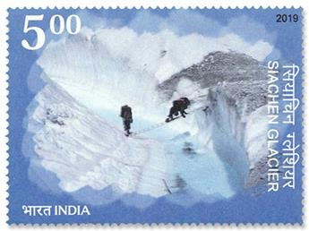 n°3283 - Timbre INDE Poste