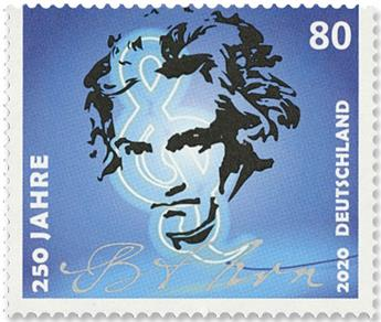 n°3297 - Timbre ALLEMAGNE FEDERALE Poste