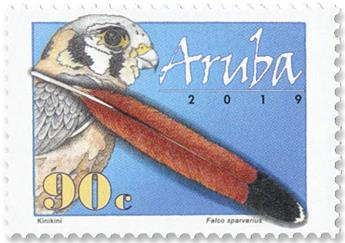 n°1071/1074 - Timbre ARUBA Poste