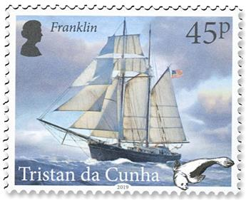 n°1236/1239 - Timbre TRISTAN DA CUNHA Poste