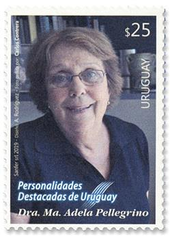 n°2973 - Timbre URUGUAY Poste