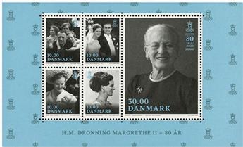n°1949 - Timbre DANEMARK Poste