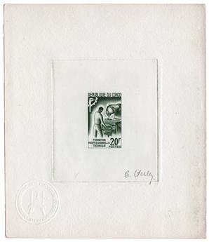 n°160 - Timbre CONGO Poste