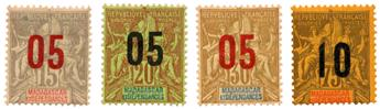 n°111/114* - Timbre MADAGASCAR Poste