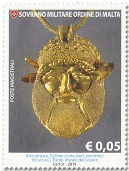n° 1501/1506 - Timbre ORDRE de MALTE Poste