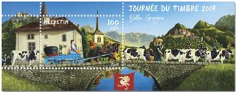 n° F2555 - Timbre SUISSE Poste