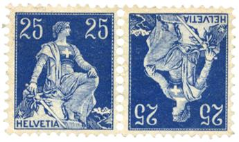 n°120a** - Timbre SUISSE  Poste