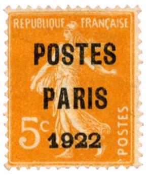 n°30(*) - Timbre FRANCE Préoblitères