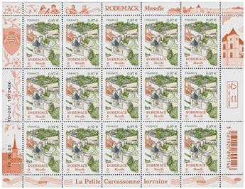 n° F3 - Timbre FRANCE Feuillets de France (n° 5407)