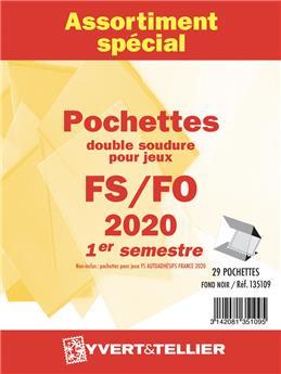 Assortiment de pochettes (double soudure) : 2020-1er semestre