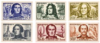n°1207/1212** ND - Timbre FRANCE Poste