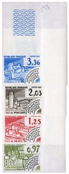 n°174/177** ND - Timbre FRANCE Preéoblitères