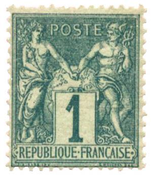 n°61** - Timbre FRANCE Poste
