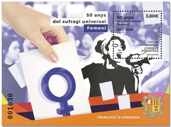 n° F486 - Timbre ANDORRE ESPAGNOL Poste