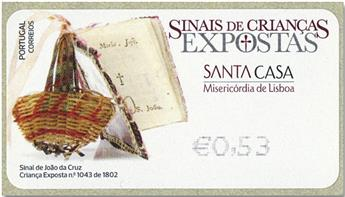 n° 236 - Timbre PORTUGAL Timbres de distributeurs