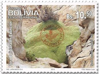 n° 1625 - Timbre BOLIVIE Poste