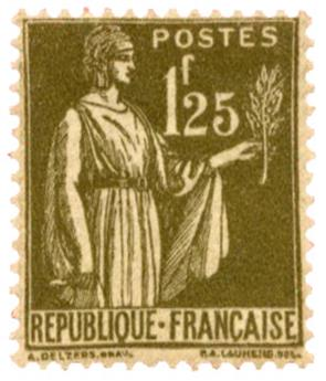 n°287* - Timbre FRANCE Poste